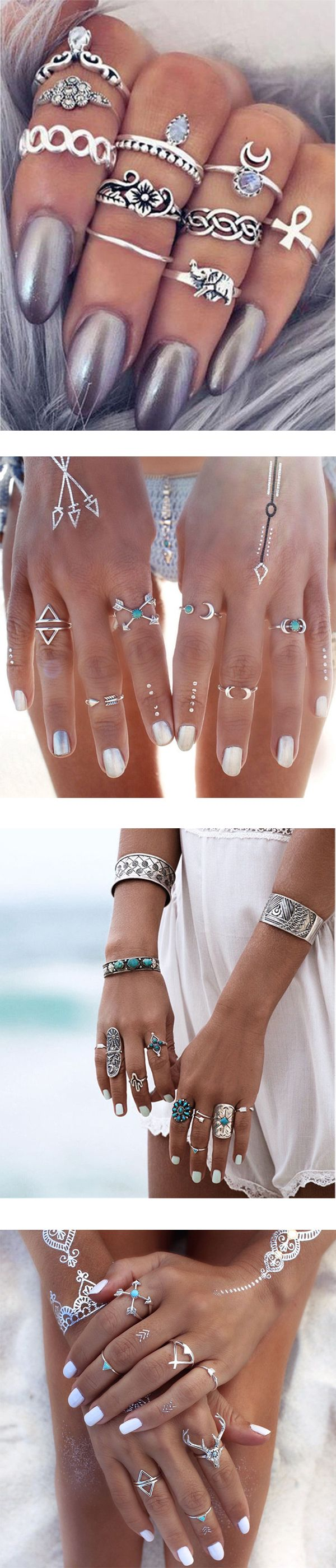 Under $5. Get your unique rings.