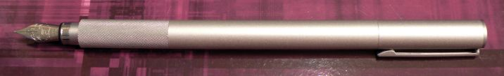 Muji Aluminum Round Fountain Pen