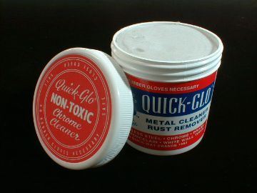 Quick-Glo is the superior, non-toxic; eco-friendly cleaner originally invented in 1957 as a rust remover/metal polish.