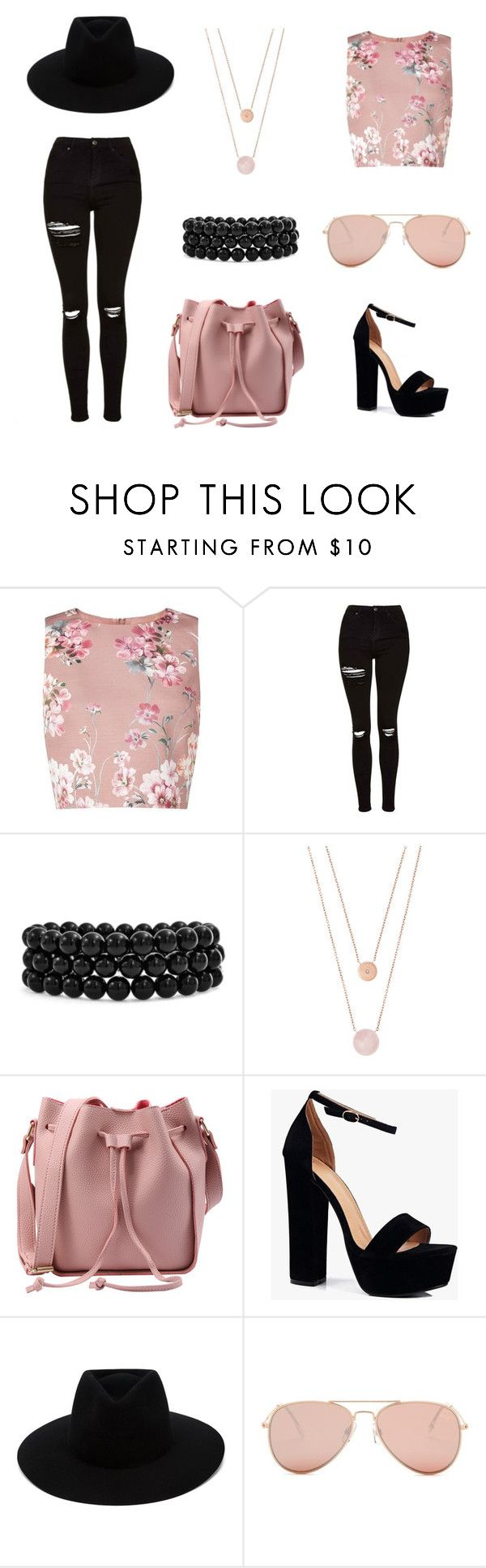 """""""We R Who we R."""" by rojoubdalia on Polyvore featuring Miss Selfridge, Topshop, Bling Jewelry, Michael Kors, Boohoo, rag & bone and Betsey Johnson"""