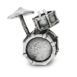 Simstars Sieraden 925 zilver | Bedel drumstel Z2140 | SIMSTARS BEDELS fantasie | Idhuna Jewels - Fashion sieraden