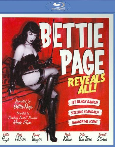 Bettie Page Reveals All [Blu-ray] [2013]