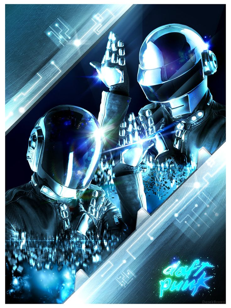 Cool Daft Punk Poster