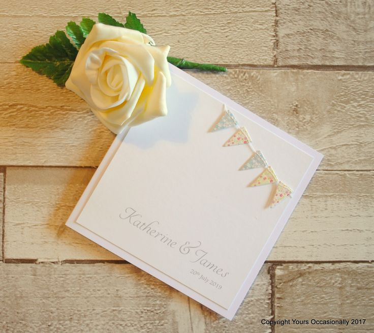mini book wedding invitations uk%0A Flying the Flag Bookfold Invitation
