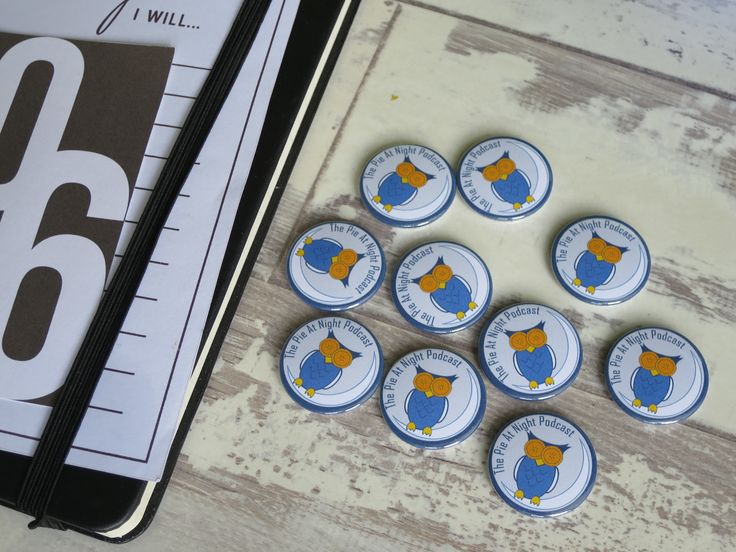 A set of customised hen party badges. You can customise your own at