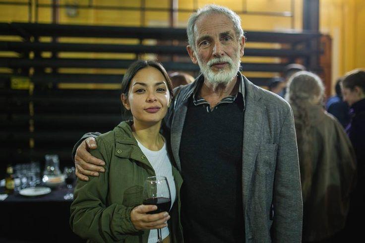 Cóctel estreno de ANTÍGONA TUM 2015   Antígona y Creón Fotografía Cristóbal Saavedra