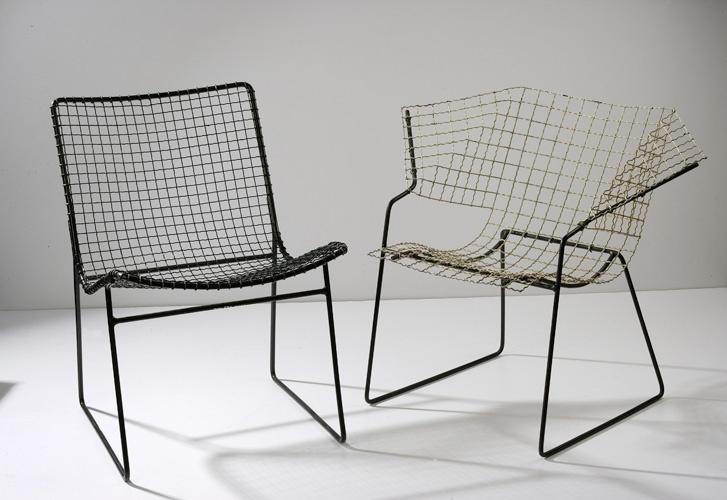 Czesław Knothe, Krzesło z siatki metalowej, 1955