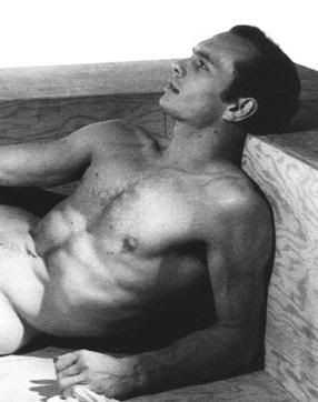 Yul Brynner at 22 posing nude for photographer George Platt Lynes.