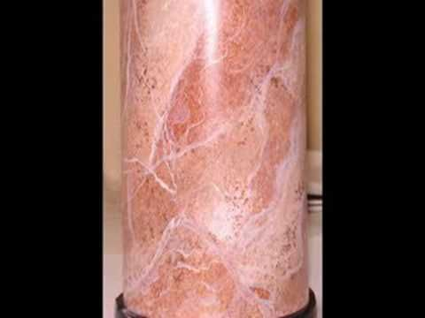 Faux Marble - Paonazetto Marble Columns by Marc Potocsky 2012 CT. NY. - YouTube