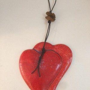 Ceramic Wall heart | Cretan Mementos