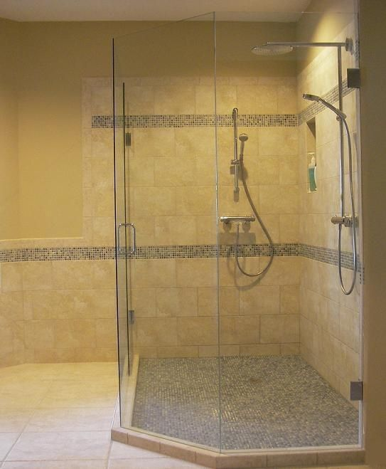 custom tile bathroom shower in wesley chapel florida