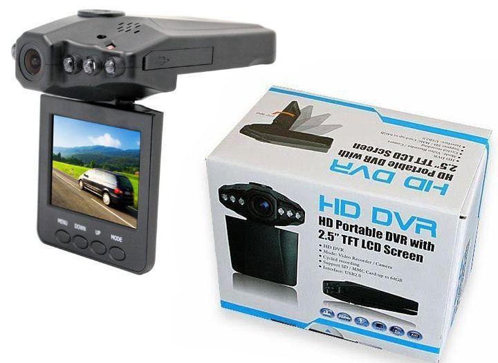 """Termékek Kupon - 39% kedvezménnyel - Termékek - Autós eseményrögzítő HD kamera DVR - 2.5"""" színes TFT LCD monitorral kedvező áron 8 990 Ft helyett 5 490 Ft-ért! Karácsonyi ajándéknak is tökéletes!."""
