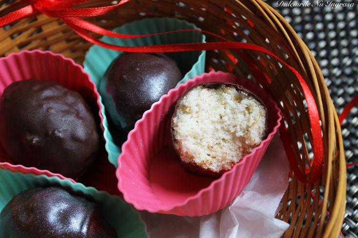 Oua cu Vanilie in Ciocolata (fara zahar, fara gluten, 100% sanatoase)