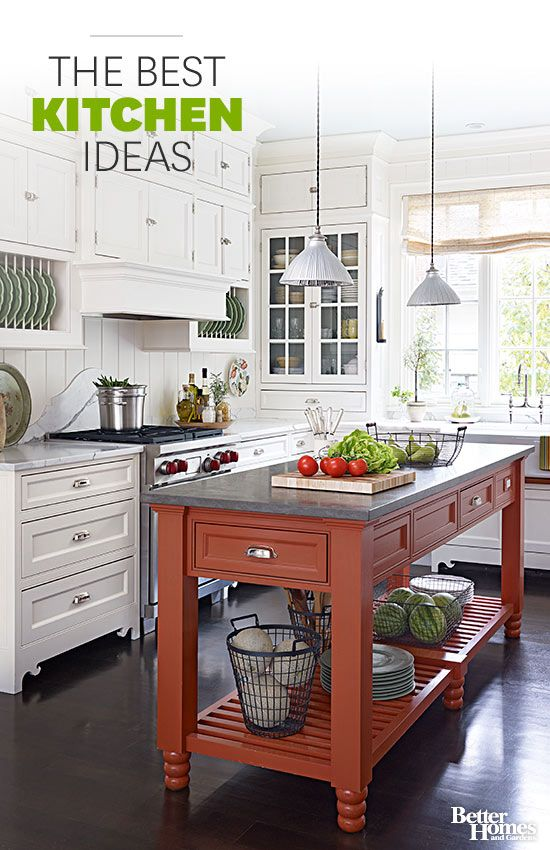 The Best Kitchen Idesa Kitchens are the heart of the home, and everyone uses them differently. Explore our vast collection of kitchen decorating ideas, check out our collection of kitchen remodeling ideas and photos featuring modern, country, cotta