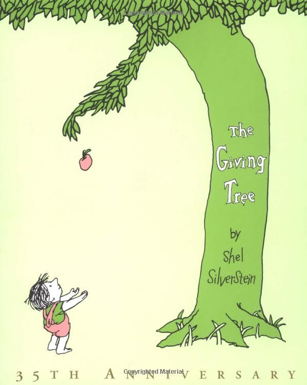 Once of my all-time fav books: Worth Reading, Childhood Books, Books Worth, Favorite Children, The Give Trees, Kids, Favorite Books, Children Books, Shel Silverstein