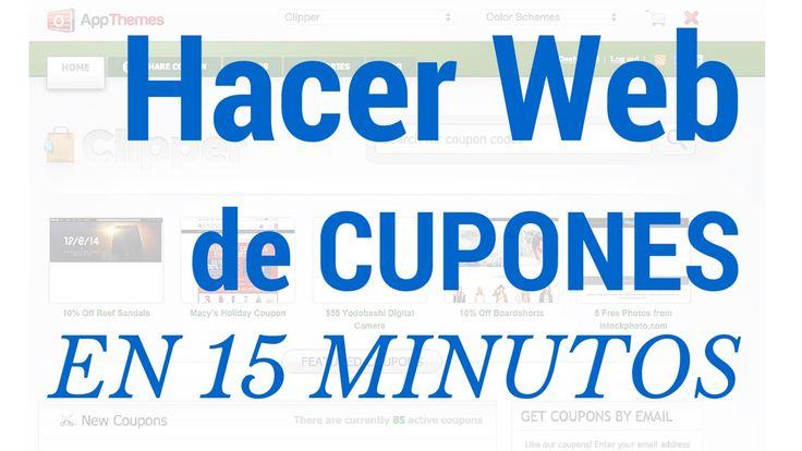 Cómo hacer una Web de Cupones Descuento y Ofertas con Wordpress
