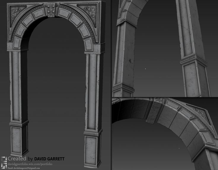 Gears of war UDK environment - Polycount Forum