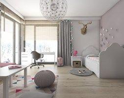 Aranżacje wnętrz - Pokój dziecka: Pokoje dziecięce - Duży pokój dziecka dla dziewczynki dla ucznia dla malucha, styl nowoczesny - BAGUA Pracownia Architektury Wnętrz. Przeglądaj, dodawaj i zapisuj najlepsze zdjęcia, pomysły i inspiracje designerskie. W bazie mamy już prawie milion fotografii!