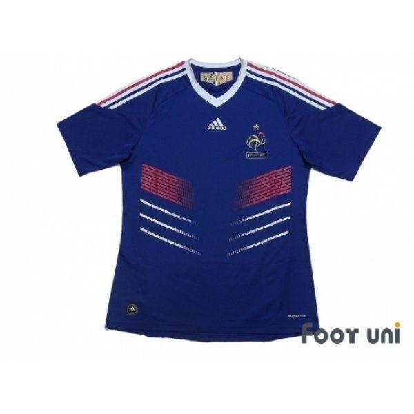 France 2010 Home Shirt #france #francenationalteam #adidas - Football Shirts ,Soccer Jerseys