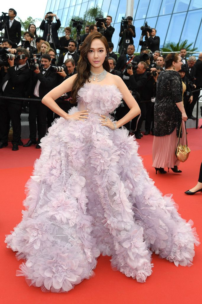 e8822aab5dc Jessica Jung Photos Photos -  Solo  A Star Wars Story  Red Carpet Arrivals  - The 71st Annual Cannes Film Festival - Zimbio