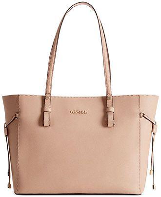 Simple NEW Calvin Klein Womens Sadie Center Zip Satchel Carryall