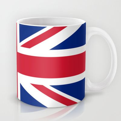 UK FLAG - The Union Jack Authentic color and 3:5 scale  Mug by LonestarDesigns2020 - Flags Designs + - $15.00