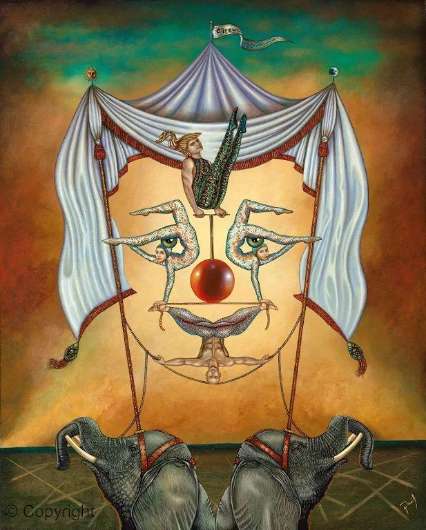 *Dasil David Silva*| Surrealist painter.