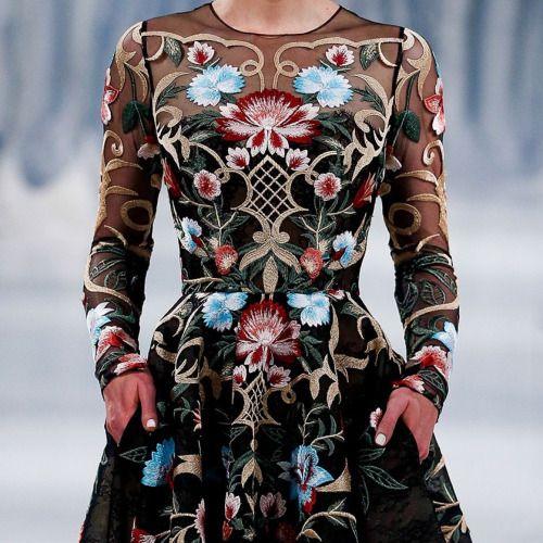 empress-empire:  Detail    Paolo Sebastian F/W16 Couture