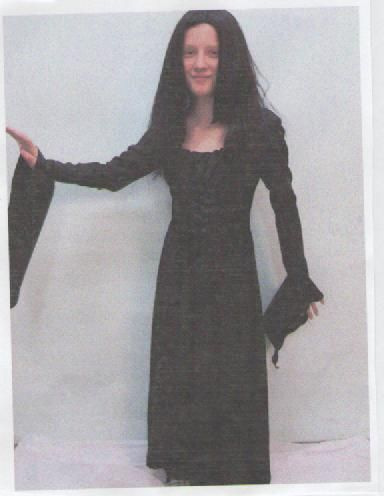 Morticia ...size 12-14 kids
