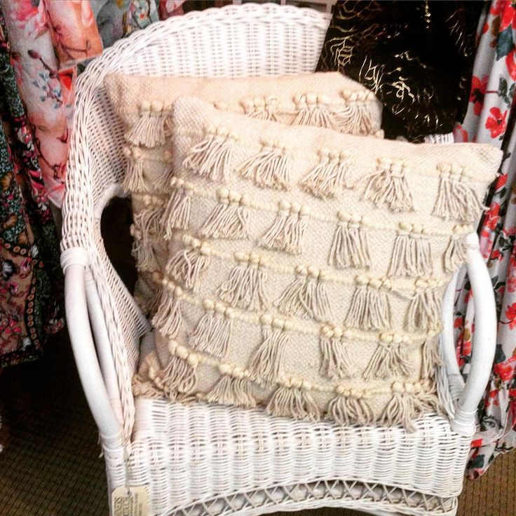 #theminerscouch #rattan #chair #boho #cushions #scarves #fashion #shopping #moonta