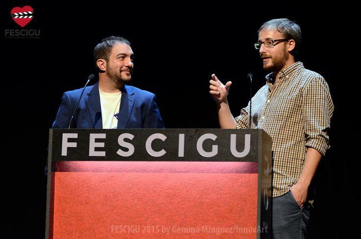 Daniel Burgui y Andrés Salaberri. Sección Agencia de Viajes. Fecha: 30/09/2015. Foto: Gemma Minguez/InnovArt