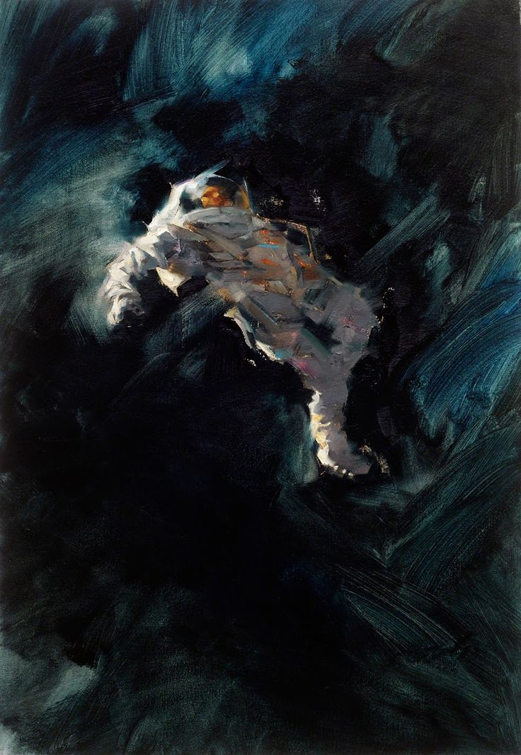 Painting by Greg Manchess for Star Bridge, James Gunn and Jack Williamson (2014)