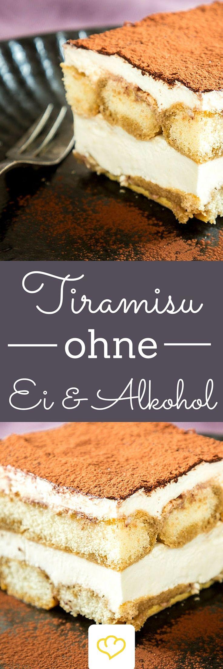 Tiramisu ohne Ei und ohne Alkohol – Dolci für alle! Wenn das Thermometer 30…