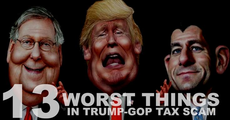 "Before House and Senate Vote, Here's 13 Worst Things in Trump-GOP Tax Scam | Common Dreams -sadly the US has entered a new era in inequality. The vested interests have ""had their way""  and far too many in the public arena  failed to react! They have been comprehensively scammed and the damage is still being wrought on other important parts of the US system. Shameful!"