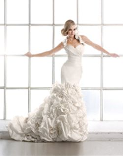 Damn. Where was this when I was tryign dresses on? Simone Carvalli Wedding Dresses - The Knot