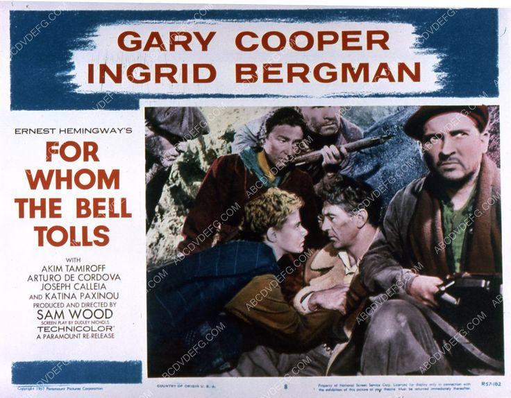 Ingrid Bergman Gary Cooper film For Whom the Bell Tolls 35m-2469