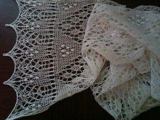 Sofia scarf, free pattern