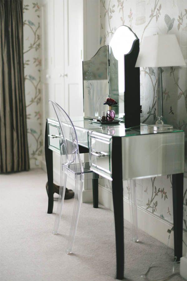 gwyn dressing table mirrored