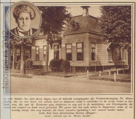 Aletta Jacobs huis