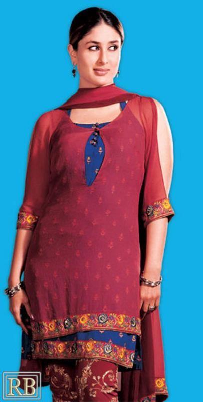 Bollywood Actresses Salwar Neck Design