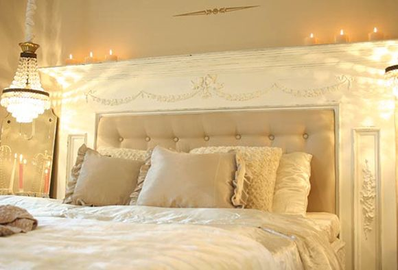 Fireplace Headboard