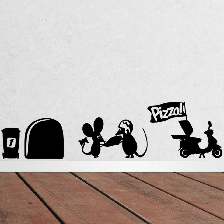 Mouse Hole Wall Stickers //Price: $5.99 & FREE Shipping //     #stickers