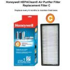 Honeywell HEPAClean Replacement Filter C, Blacks