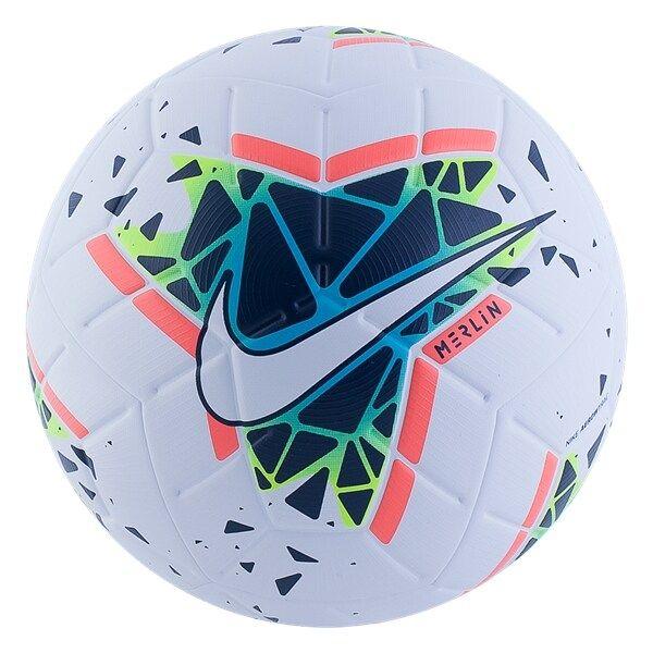 Nike Merlin Soccer Ball White Green World Soccer Shop Soccer Ball World Soccer Shop Football Ball