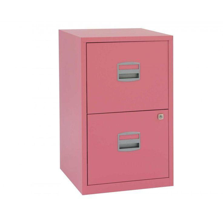 Bisley Metal Filing Cabinet 2 Drawer A4 - Filing Cabinets - Storage & Shelving - Furniture & Storage