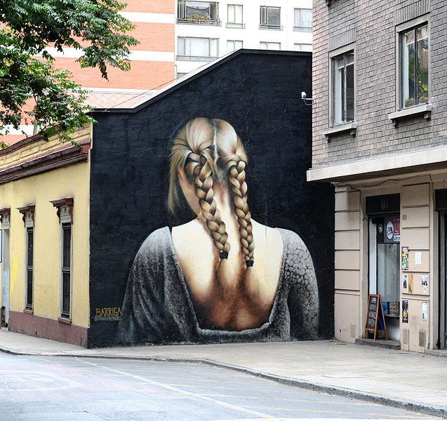 Stunning work by @grasosbremagro in Santiago Chile…