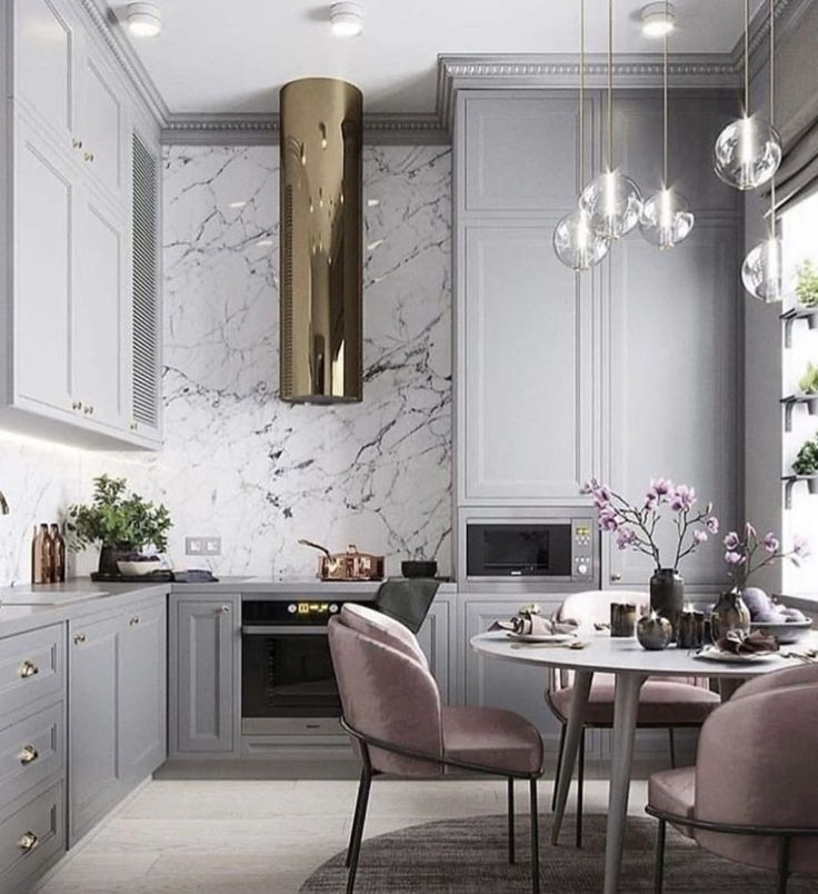 "1,509 Likes, 22 Comments - Living Edge Interiors (@livingedgeinteriors) on Instagram: ""L O V E the pale grey paired with the dusty pink design by @planaspb_com via @contourinterior | via…"""