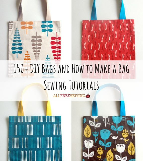 150+ DIY Bags and How to Make a Bag Sewing Tutorials | All of our free purse patterns, located on one convenient page!