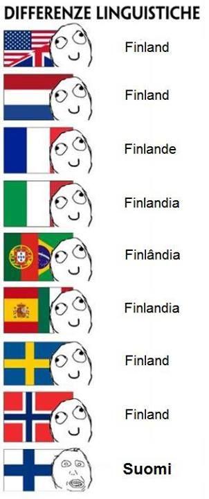 Finnish language. lol