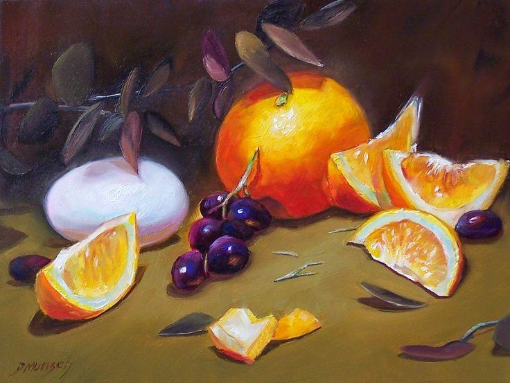 Original oil painting orange and egg for Original sculptures for sale